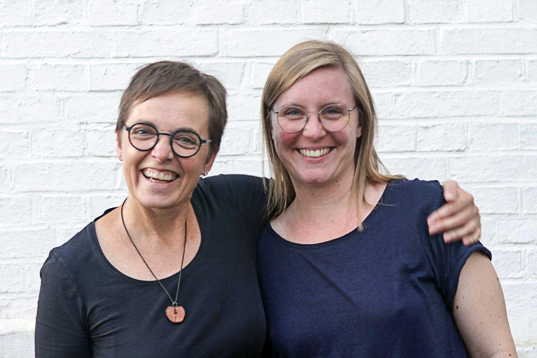 Sabine und Anke